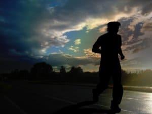 Gear for running after dark