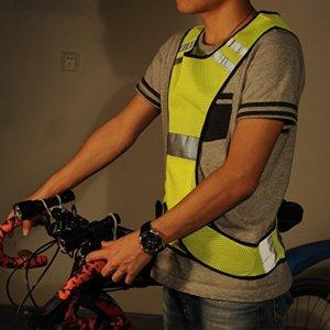 High Visibility LED lighting Sets Safety Vest